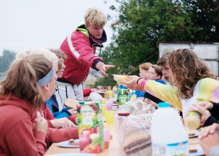Ontbijten bij DeZeilschool